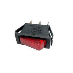 Interruptor luminoso rojo unipolar 3 contactos 14AG010