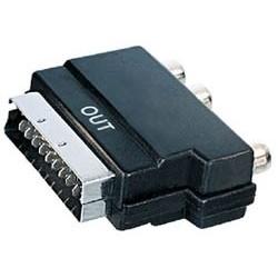 Adaptador euroconector a 3xRCA (out) V49O