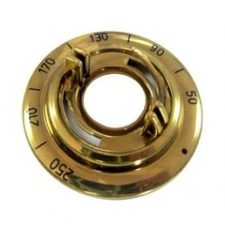 Mando termostato horno Teka dorado 83030437