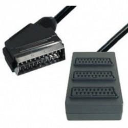 Euroconector a caja 3 euconectores h 0,4m V81-3