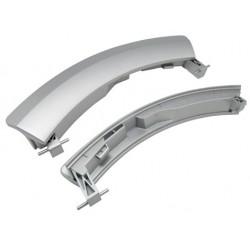 Maneta original lavadora Balay, Bosch, 00751791. gris oscruo brillo. BSH-751791