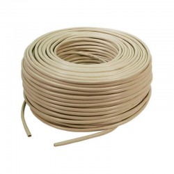 Cable red STP CAT5E 305m gris