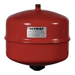 Vaso expansión calefacción y solar 25 litros, 3/4- 1,5 bar