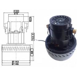 Motor aspirador universal 1600W