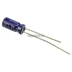 Condensador electrolitico 1MF- 63V CERL-1MF-63V
