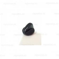 Mando encimera Teka color negro, eje corto  83030426