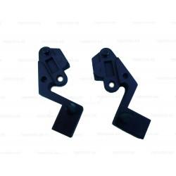 Soporte izquierdo y derecho visera campana extractora Teka C601, C602. 41TK0025