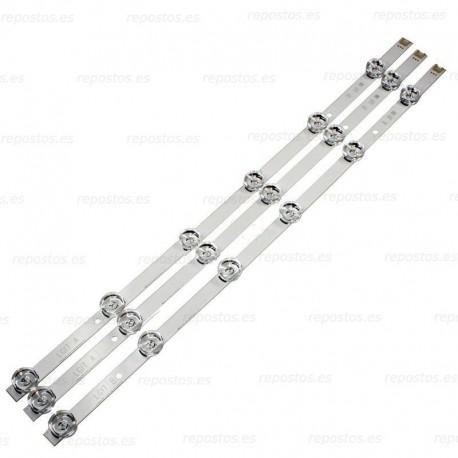KIT 3 BARRA LED, LG AGF78400101
