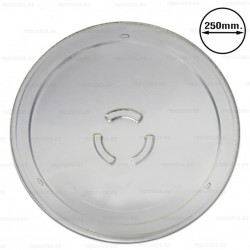 Plato microondas Ø 250 mm. Whirlpool 481246678412