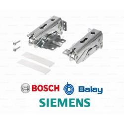 Kit bisagras panelables (2 unidades) frigorifico Bosch 481147