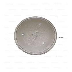 Plato microondas Panasonic 315mm (anclaje 1,5cm.)   49PM014